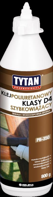 Klej do drewna klasy D4 poliuretanowy PB-350
