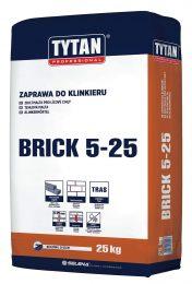 Zaprawa do klinkieru BRICK 5-25